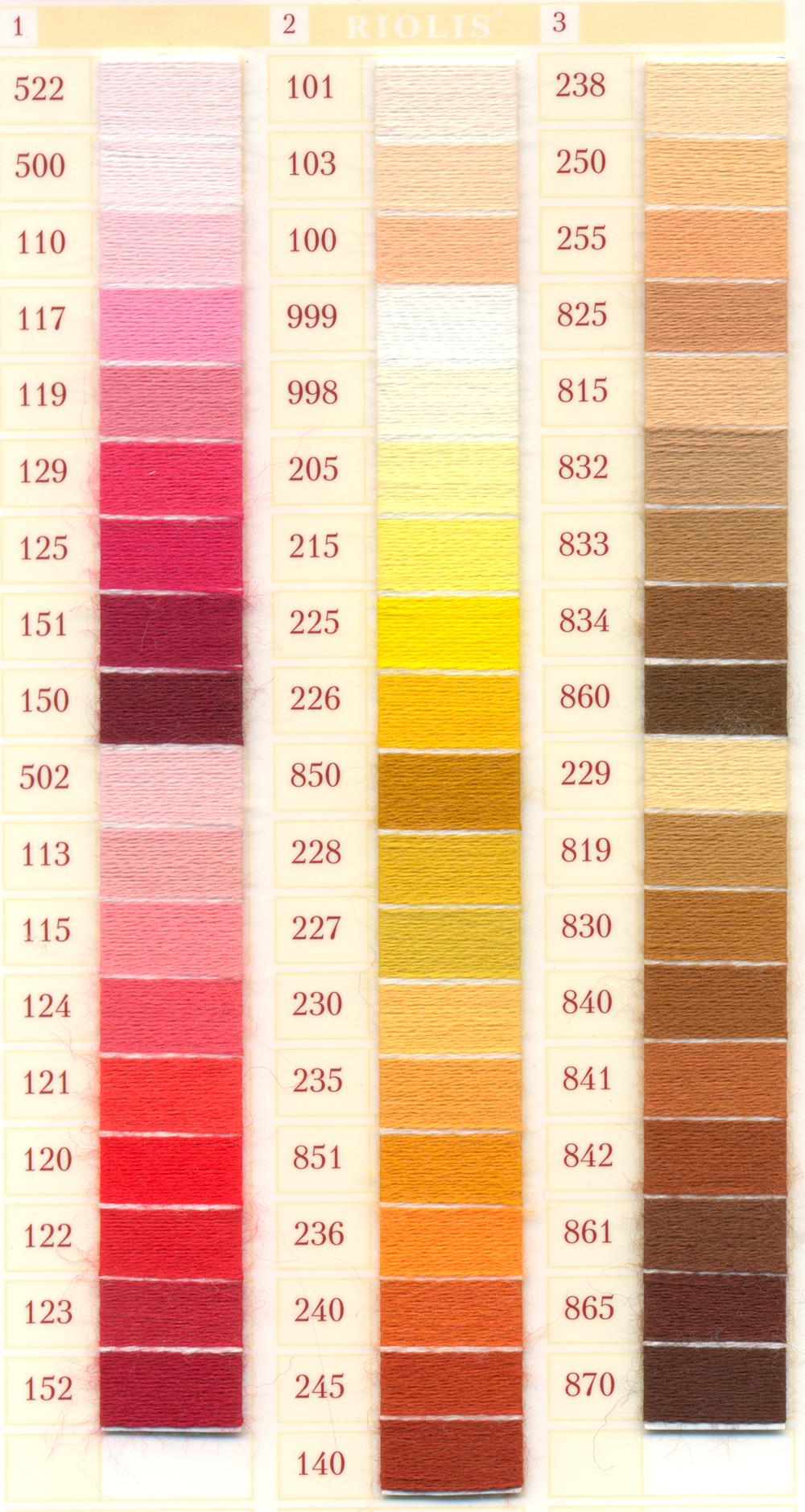 Шерстяные нитки для вышивания RIOLIS Купить 63