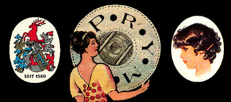 старый логотип компании Prym